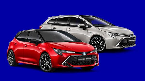Autoleasing Kuukauden tarjoukset Toyota Corolla